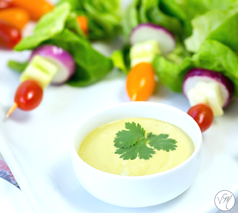 Creamy, refreshing + delicious. Perfect on salads, burgers or tacos!