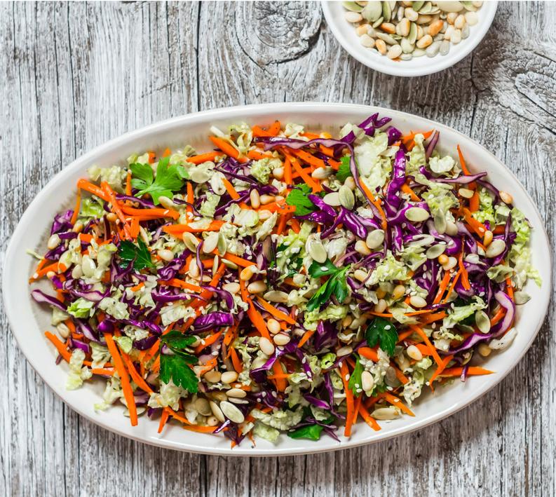 Nutty Slaw Salad