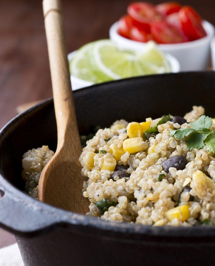Fiesta Quinoa Salad Ingredients