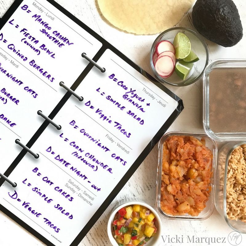Meal Planning Part 1: The Plan