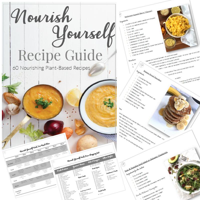 Nourish Yourself Meal Plan