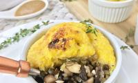 Polentil Mushroom Pot Pie