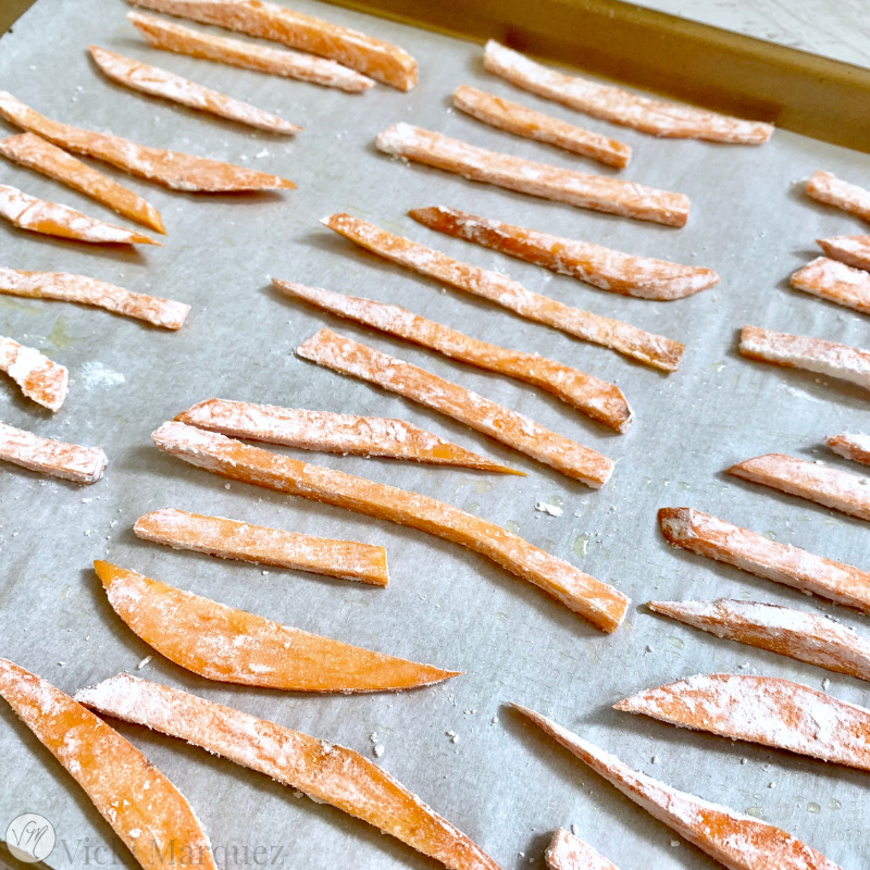 Crispy Sweet Potato Fries VM3