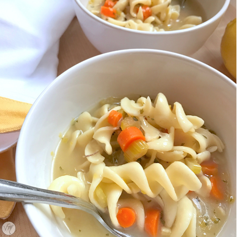 Lemon Noodle Soup