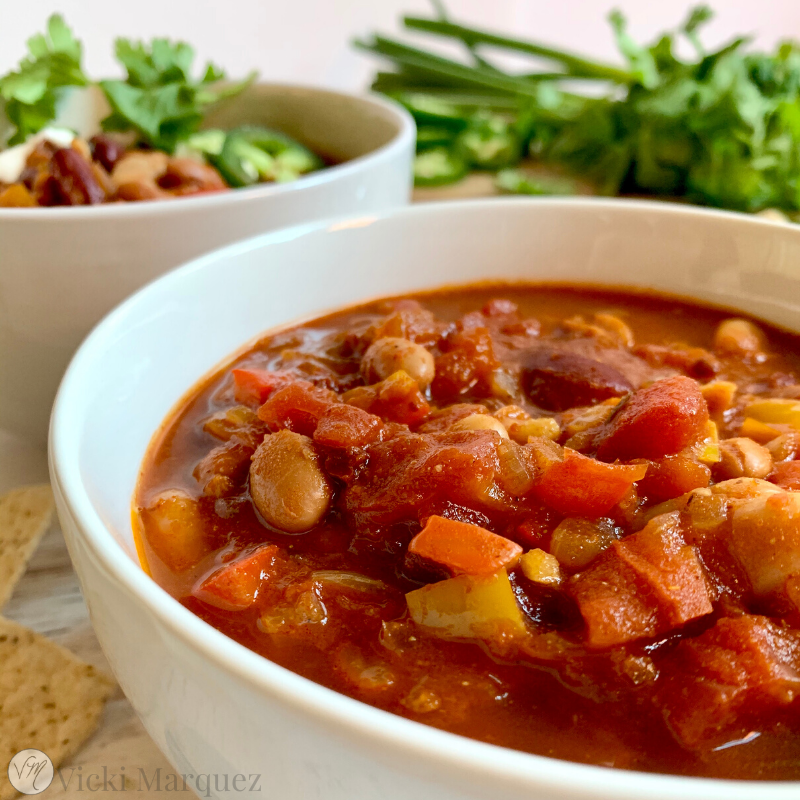 Smoky Three Bean Chili VM