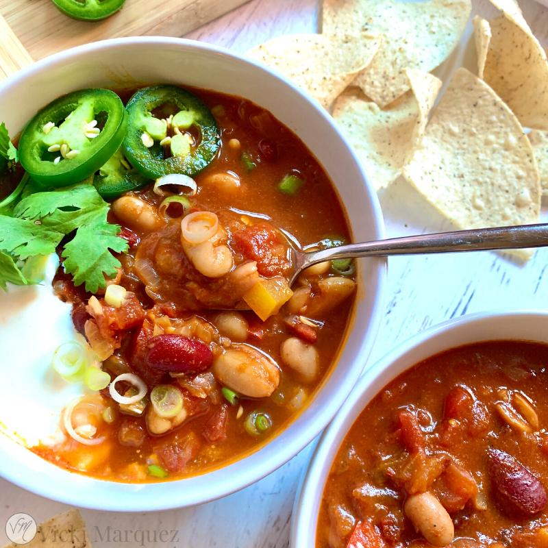 Smoky Three Bean Chili