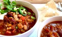 Smoky Three Bean Chili