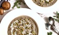 Cream of Shitake Soup